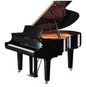 "C1X SH Silent 5'3"" grand digital/acoustic piano (baby grand / midi piano) w/cover Black"