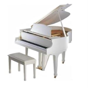 "C1X SH WH Silent 5'3"" grand digital/acoustic piano (baby grand / midi piano) w/cover White"