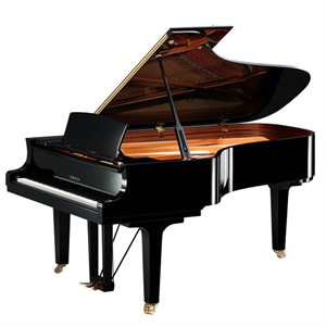 "C7X SH Silent 7'6"" digital/acoustic grand piano (midi piano) w/cover Black"