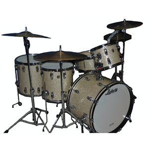 Classic Maple Drum Kit - Silver Glass Glitter