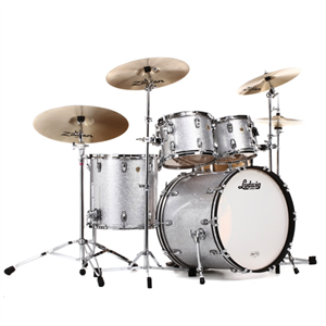 Classic Maple Drum Kit - Silver Sparkle