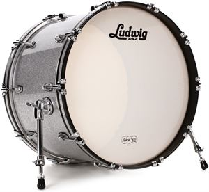 Classic Maple Silver Sparkle 22x14 bd (virgin)