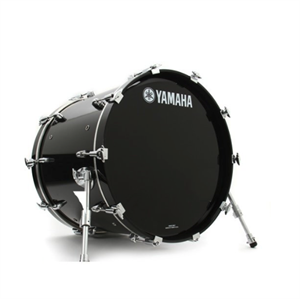 Maple Custom Absolute Black 22x18 bd (w/mount)