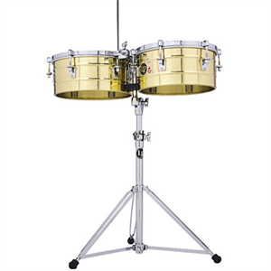 Timbales Tito Puente Model Brass 14""