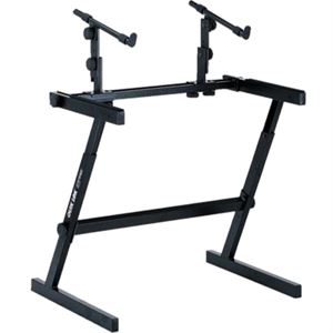 Z726L Extra-Wide 2-tier, Height Adjustable Z stand